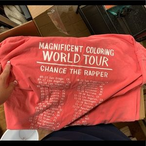 Chance the rapper t shirt
